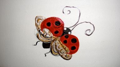 A wish ladybug